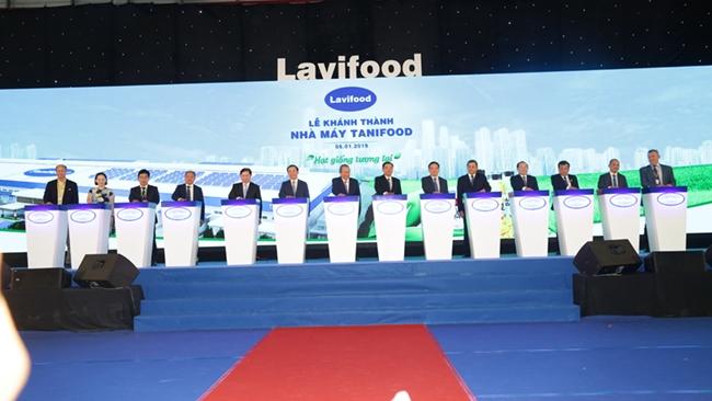 Lavifood khánh thành nhà máy chế biến rau củ quả lớn nhất Việt Nam