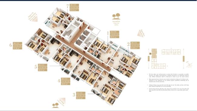 Dự án The Grand Manhattan ra mắt tháp căn hộ Parkview