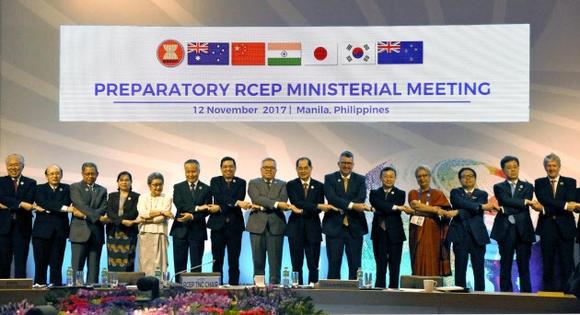 Hiệp định thương mại RCEP bị hoãn tới năm 2018