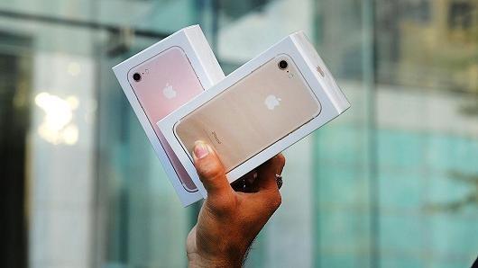 IPhone 7 là điện thoại thông minh bán chạy nhất thế giới trong Q1