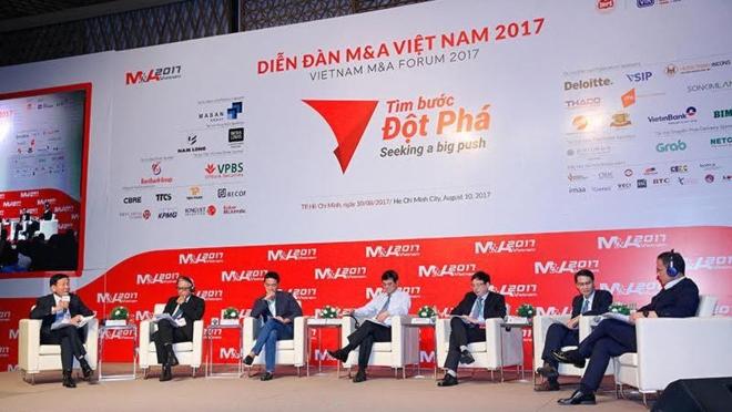 Hướng tới mục tiêu 5 tỷ USD giá trị M&A năm 2017