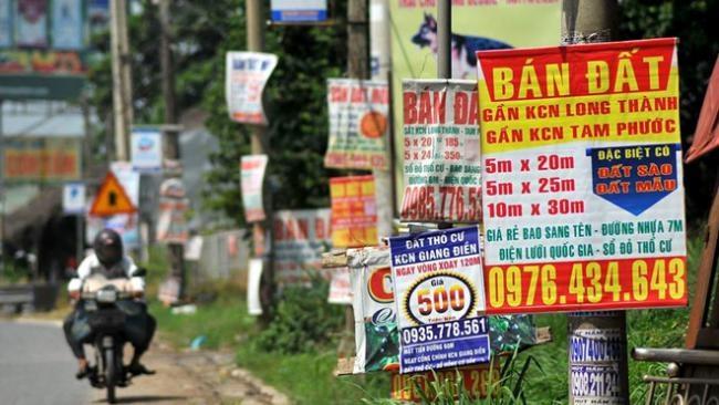 Khuyến cáo không mua bán, chuyển nhượng đất quanh sân bay Long Thành