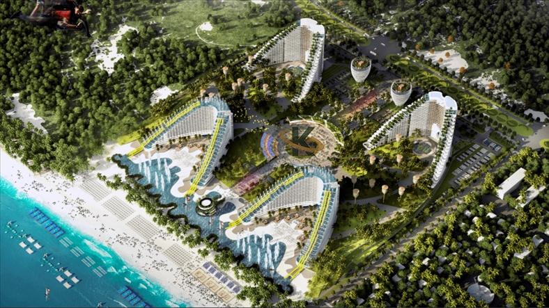 4.500 căn hộ khách sạn 'đổ bộ' bán đảo Cam Ranh