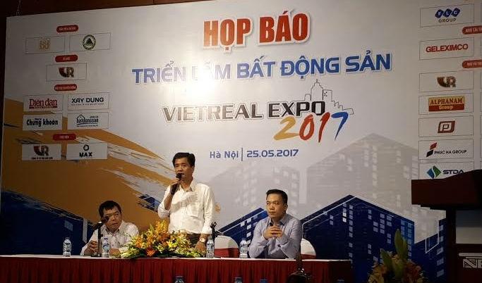 Hàng loạt đại gia bất động sản tham dự Vietreal Expo 2017