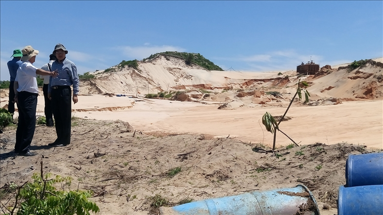Thực hư con số 600 triệu tấn titan tại Bình Thuận?
