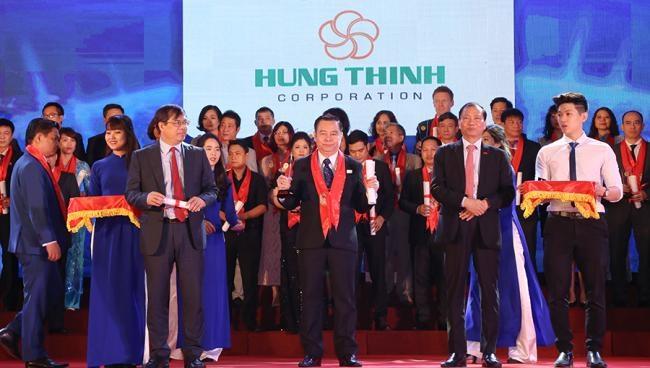 Hưng Thịnh đạt danh hiệu thương hiệu mạnh Việt Nam năm 2017