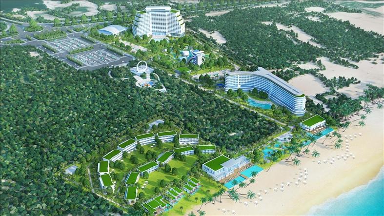 Thêm một dự án du lịch lớn tại Khánh Hòa được Ngân hàng Quân đội cấp vốn