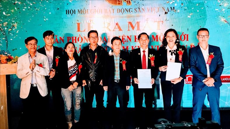 Ra mắt văn phòng Hội Môi giới bất động sản tại Vân Đồn