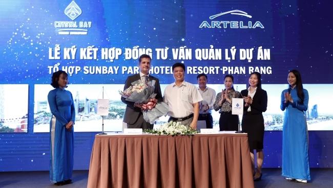 Crystal Bay ký kết với các đối tác chiến lược triển khai tổ hợp SunBay Park Hotel & Resort
