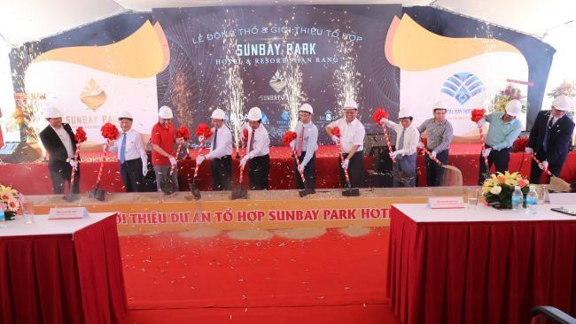 Động thổ tổ hợp 4.500 tỉ đồng SunBay Park Hotel & Resort Phan Rang