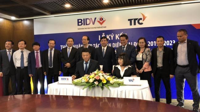 Tập đoàn TTC và BIDV ký kết hợp tác toàn diện giai đoạn 2019 - 2023