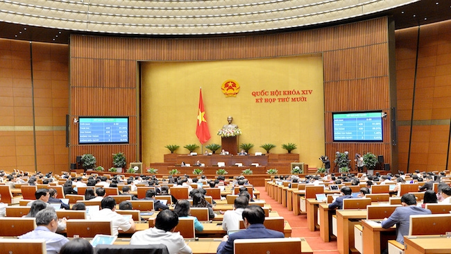 Quốc hội thông qua mục tiêu GDP tăng 6% năm 2021