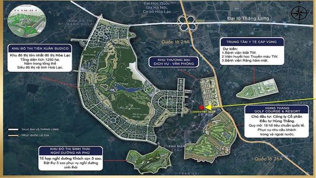 Hà Nội tham vọng xây siêu đô thị vệ tinh ở Hoà Lạc