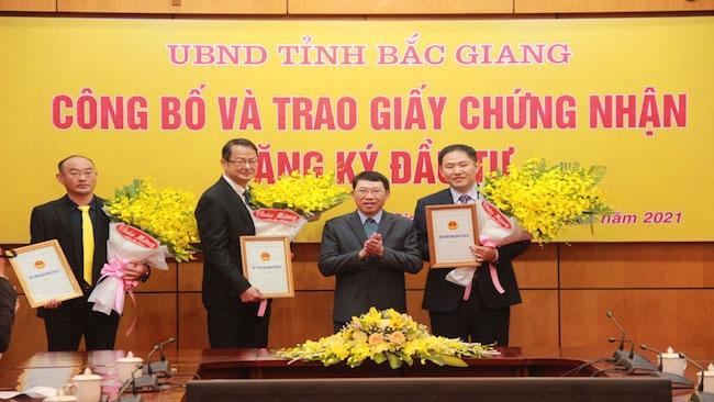 Thêm 570 triệu USD vốn ngoại đổ vào Bắc Giang