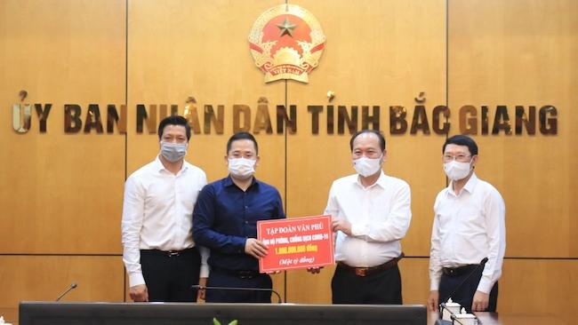 Văn Phú – Invest muốn đầu tư 4 dự án lớn tại Bắc Giang