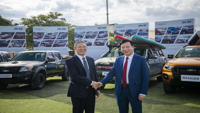 Bán 100.000 xe Ford Ranger ở Việt Nam