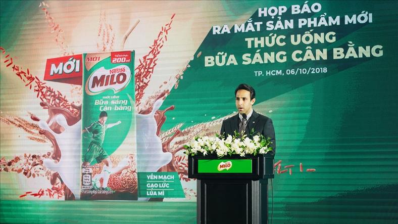 Nestlé Milo giới thiệu giải pháp mới cho bữa sáng cân bằng của trẻ.