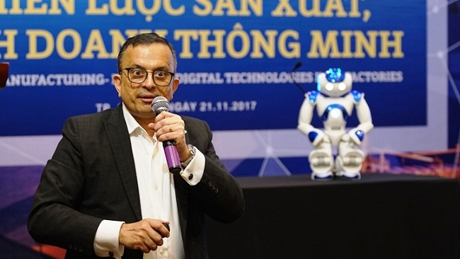 'Việt Nam thuộc nhóm quốc gia ứng dụng robot nhanh nhất khu vực'