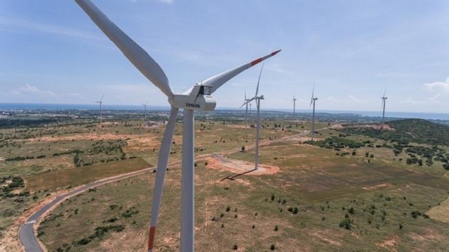 Vestas ASP xây dựng chuỗi trang trại điện gió tại Quảng Trị