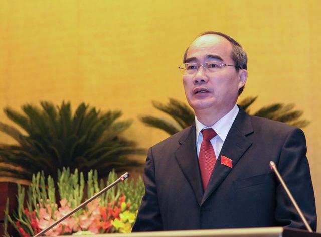 Ông Nguyễn Thiện Nhân giữ chức Bí thư Thành ủy TP. HCM