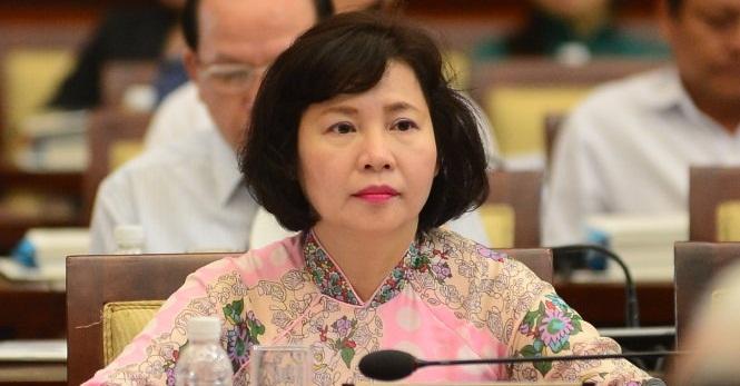 Cảnh cáo, đề nghị miễn nhiệm các chức vụ đối với bà Hồ Thị Kim Thoa