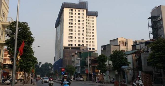 UBND phường Điện Biên sẽ khóa cổng dự án 8B Lê Trực