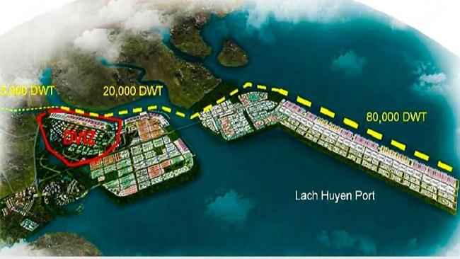Hành lang kinh tế Lạch Huyện - Trung Quốc: Các 'ông trùm' Him Lam, BRG, FLC, Xuân Trường đổ bộ