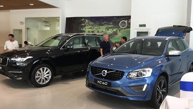 Volvo xâm nhập thị trường Việt Nam bằng ba dòng xe sang