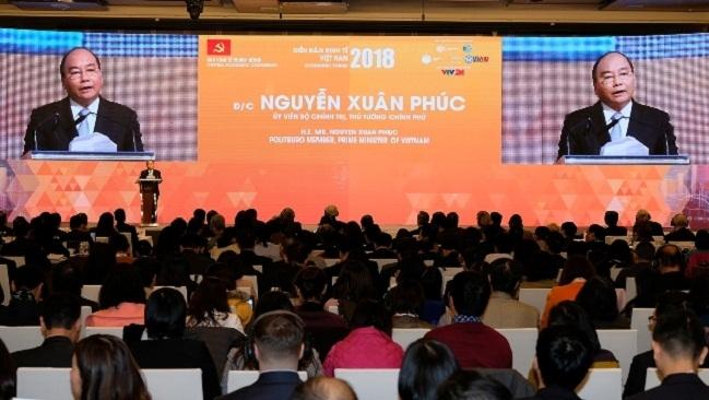 """Thủ tướng: Thể chế là yếu tố quan trọng để Việt Nam chống chịu những """"cú sốc"""" từ bên ngoài"""