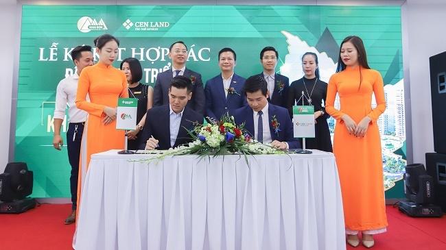 Cenland bắt tay Khai Sơn đầu tư dự án Khai Sơn Town