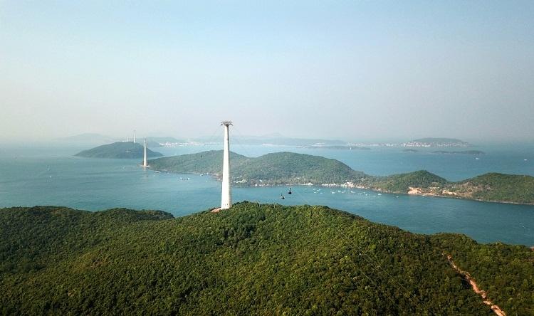 Phú Quốc khai trương cáp treo vượt biển dài nhất thế giới
