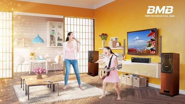 BMB Nhật Bản ra mắt dòng sản phẩm BMB Karaoke Home Series tại Việt Nam