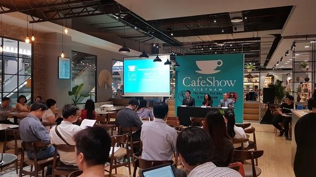 Nhiều cơ hội quảng bá hạt cà phê Việt tại triển lãm Cafe Show Việt Nam 2018
