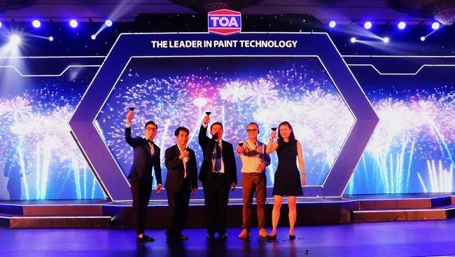 Hãng sơn TOA Việt Nam ra mắt 2 sản phẩm sơn công nghệ mới