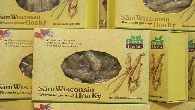 Hội đồng sâm Hoa Kỳ giới thiệu dòng sâm Wisconsin tại Việt Nam