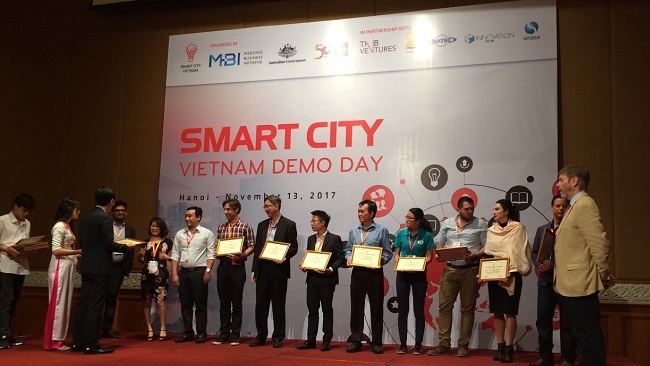 Một công ty Singapore giành chiến thắng về giải pháp thành phố thông minh cho Việt Nam