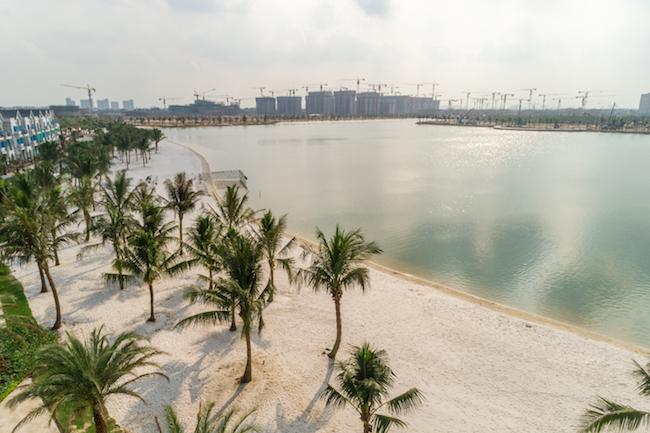 Vinhomes Ocean Park thành hình chỉ sau 8 tháng thi công