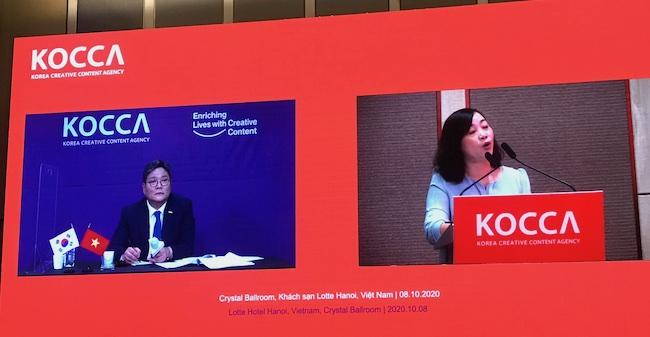 Hàn Quốc tham vọng đẩy mạnh xuất khẩu nội dung sáng tạo vào Việt Nam