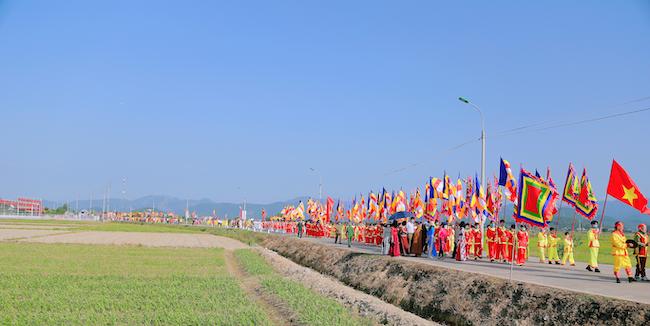 Lễ rước tượng Phật ngọc chùa Quỳnh Lâm 5
