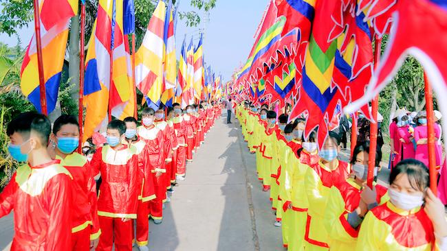 Lễ rước tượng Phật ngọc chùa Quỳnh Lâm 1