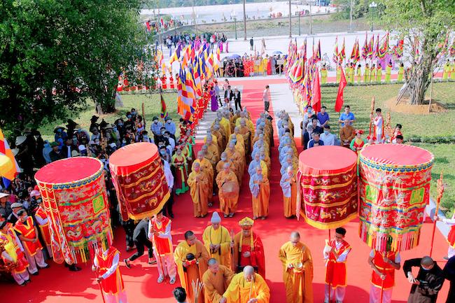 Lễ rước tượng Phật ngọc chùa Quỳnh Lâm 2