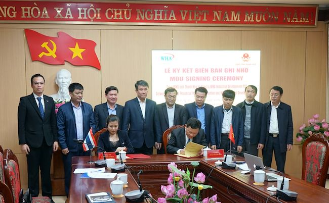 WHA Thái Lan đầu tư 2 khu công nghiệp ở Thanh Hoá