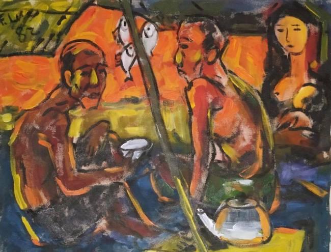 Một đời họa sĩ chiến sĩ Phạm Lực cháy hết mình vì nghệ thuật