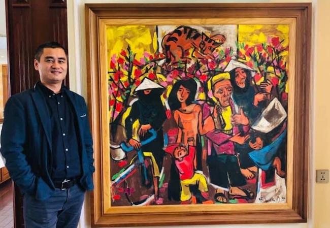 Một đời họa sĩ chiến sĩ Phạm Lực cháy hết mình vì nghệ thuật 2