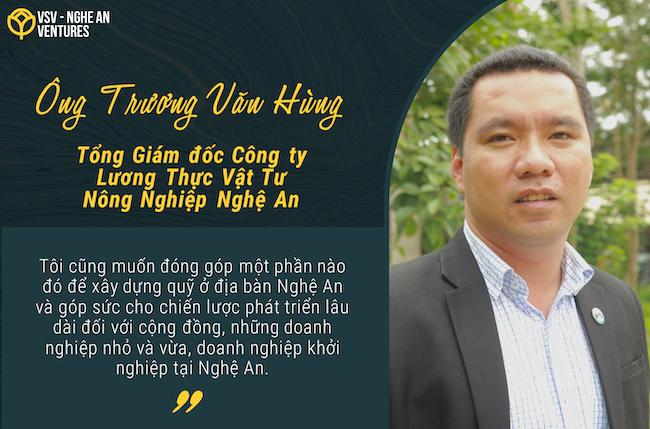 VSV-Nghệ An và những khát vọng khởi nghiệp lớn sinh ra từ xứ Nghệ 3
