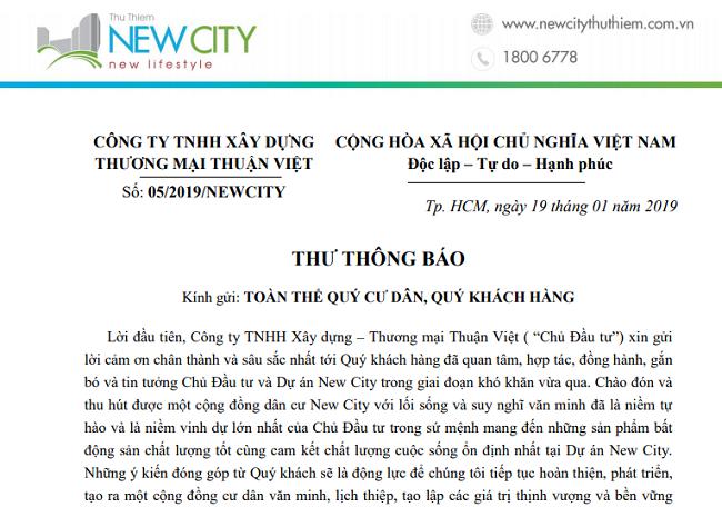 Không vay tiền ngân hàng, cư dân New City Thủ Thiêm bị dọa đuổi ra khỏi nhà 1