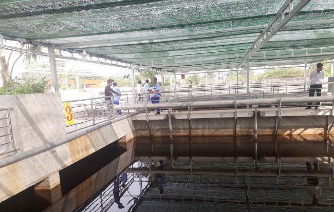 Bên trong nhà máy xử lý nước thải đầu tiền của đại gia Dũng 'lò vôi' 4