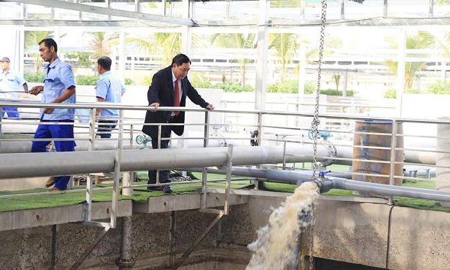 Bên trong nhà máy xử lý nước thải đầu tiền của đại gia Dũng 'lò vôi' 2