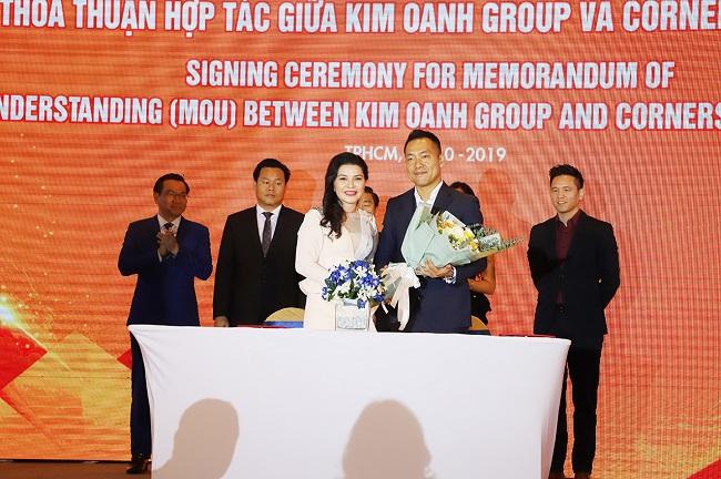 Kim Oanh Group hợp tác chiến lược với OCB, CornerStone Việt Nam và Trung Hậu 1
