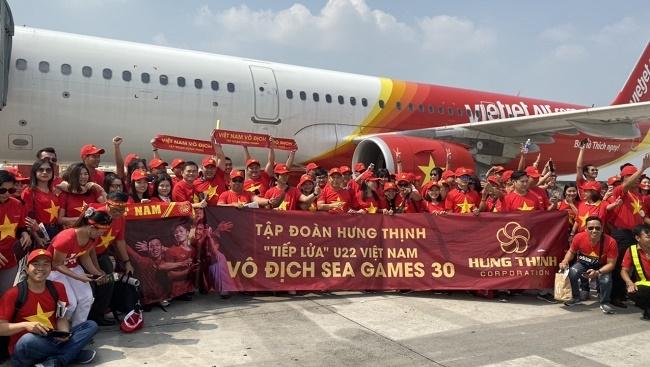 Tập đoàn Hưng Thịnh thưởng 1 tỷ đồng cho tuyển U22 Việt Nam 1